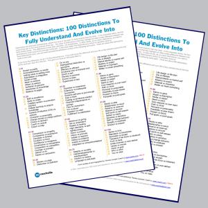 100 Key Distinctions sneak peek